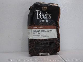 Peet's 20 oz Major Dickason's Blend Dark Roast Ground Coffee