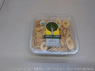 Davis Lewis Orchards Organic Chips, Banana, 8 Ounce < Dried