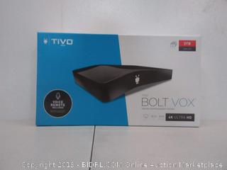 TiVo BOLT VOX 3TB, DVR & Streaming Media Player, 4K UHD, Now with Voice Control!