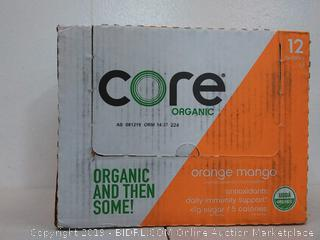 Core Organic Orange Mango 12 pack