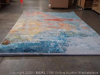 Nourison Celestial Abstract Colorful Area Rug, size 9' x 12', (Online $362.79)