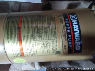 Hayward SP2607X10 Super Pump 1 HP Pool Pump (Online $420)