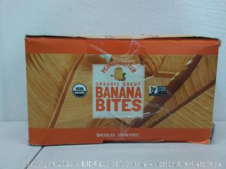 peanut butter organic chewy banana bites