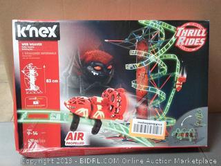 K'Nex Web Weaver Roller Coaster Building Set, Ages 9-14