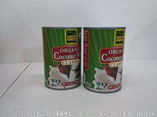 native Forest organic classic coconut milk 12 cans