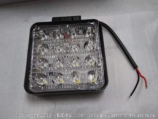 Turboo, 4inch/48W led work light, square spot lights- 10pcs