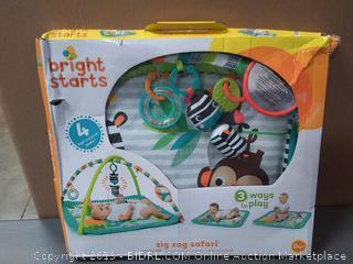 Bright Starts Activity Gym, Zig Zag Safari