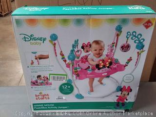 Minnie Mouse PeekABoo Activity Jumper