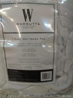 Wamsutta King Mattress Pad 025695933877