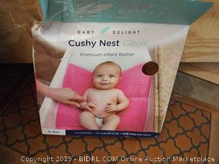 Cushy Nest Cloud - Pink - Baby Delight, Inc