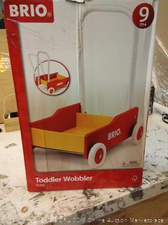BRIO - Toddler Wobbler Cart | Buy Push & Pull Toys - 7312350313505