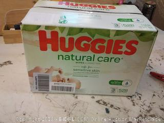Huggies Natural Care Unscented Baby Wipes 528.00 ct ShopRite