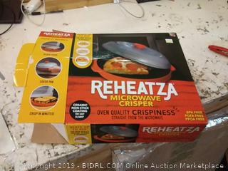 Allstar Innovations Reheatza Microwave Crisper, As Seen on TV