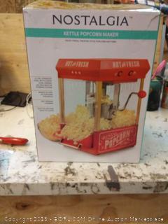 Nostalgia Electrics KPM200 Kettle Popcorn Popper - 082677382887