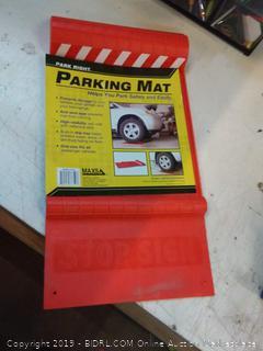 park right parking mat