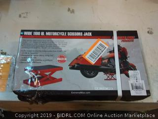 Extreme Max 5001.5044 5001.5044 1000 lbs. Motorcycle Scissors Jack-Wide
