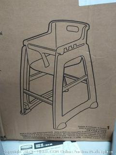 Rubbermaid sturdy chair youth seat