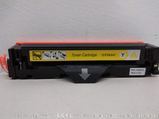 Toner Cartridge *CF502A* Yellow