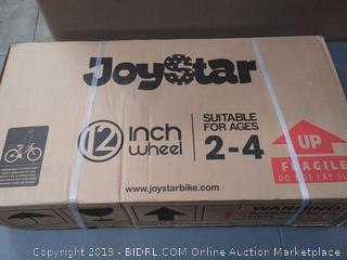"JoyStar 12"" Girls Bicycle w/Training Wheels & Basket, Ages 2-4 ($100 Online)"