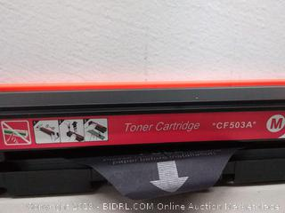 Toner Cartridge *CF503A* Magenta
