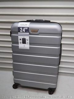 coolife 24in hard suitcase spinner