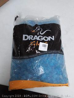 dragonglass Caribbean Blue landscape