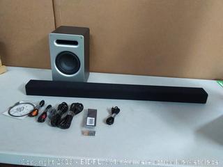 Vizio 2.1 sound bar system (online $155)