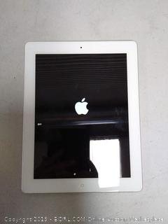 iPad 16GB model a1395 no charger - previously owned, cracks in corner of screen
