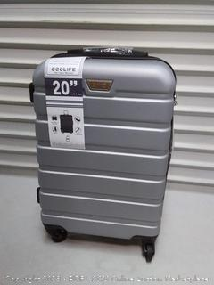 cool life 20in hard suitcase spinner