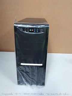 rosewill tower r536 - BK( no hard drive) previously owned