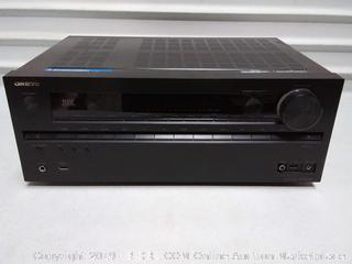 Onkyo audio receiver TX NR 609( some scratches) previously owned
