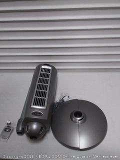 lasko space-saving pedestal fan( scuff on front fan pins)