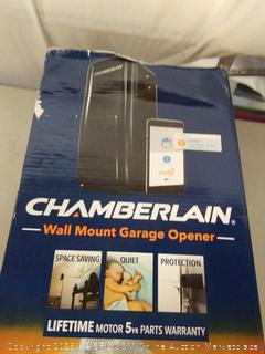 Chamberlain Group RJO20 Direct Drive Wall Mounted Space Saving Garage Door Opener, One Size, Black