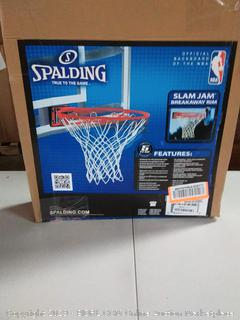 Spalding Slam Jam Basketball Rim, Red