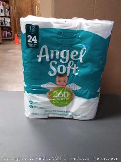Angel Soft Toilet Paper, 12 Rolls, 2 Pack
