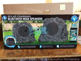 solar charging Bluetooth Rock speaker