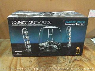 Wireless soundsticks