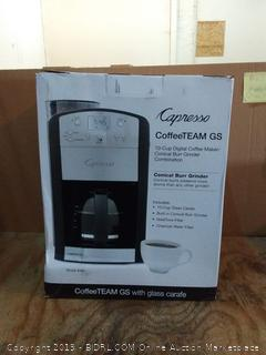 capresso coffee team GS