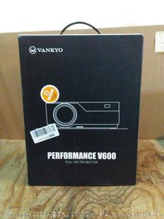 performance v600 full HDMI projector