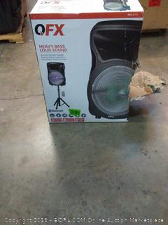 QFX heavy bass loud sound powerful wireless speaker