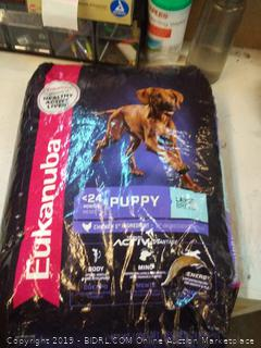 Eukanuba puppy dog food 33 pounds