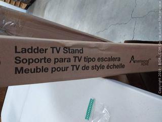 Ameriwood Home Ladder TV Stand, Black