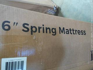 "6"" spring mattress"