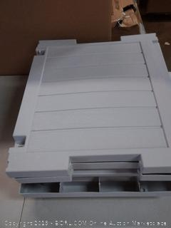 Resin Deck Storage box ,Gray
