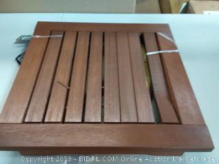 """Kingsbury side table 20"""" x 20"""", 17 H"""