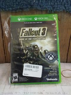 Xbox Fallout 3