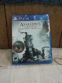 PS4 Assassin's Creed 3
