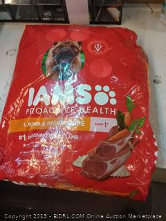iams dog food lamb &rice 30LBS