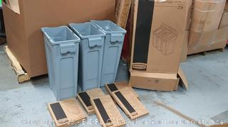 Slim jim recycling station 3 stream kit (online $276)
