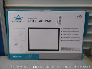 LED light pad(Powers On)